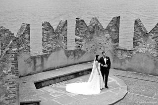 Italienische Hochzeitsszene