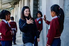 """Rock, Paper, Scissors"" (酷哥哥) Tags: game rock paper scissors nepal nepalese children recess break nagarkot shree taothali"