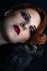 Le corbeau - Allys - Volua - 2017 (MélyneVolua) Tags: 50mm 85mm photographer allys art corbeau darkcity fashion melynevolua mode noir photo photographe photography portrait raven sombre studio yolanderouxel