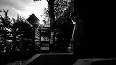 Ueno Park - Tokyo, Japan - Black and white street photography (Giuseppe Milo (www.pixael.com)) Tags: photo street city japan temple tokyo man contrast japanese candid streetphotography black photography urban bw blackandwhite sky geotagged white taitōku tōkyōto jp onsale