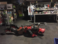 I'm so done with Christmas shopping (photography_isn't_terrorism) Tags: deadpool superhero figure