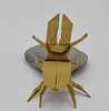 Stag Beetle back (Tony Koppers) Tags: stag beetle origami insect box pleating biotope
