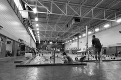 Cindy Klassen Recreation Complex (Nilo Manalo) Tags: winnipeg manitoba bw blackwhite