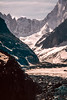 Headwall of Mer de Glace: French Alps 1993 (mharoldsewell) Tags: 1993 2018 frenchalps georgia merdeglace mountains glacier headwall mharoldsewell mikesewell photos scans slides