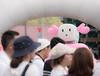 Smile-Eki-Chan(JR Shikoku) (mai:pluie) Tags: ゆるキャラ mascots sigma 100400mm 563 dg hsm os contemporary