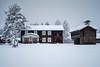 Hede Hembygdsgård (Helena Normark) Tags: hedehembygdsgård hembygsgård winter snow hede härjedalen sweden sverige sonyalpha7ii a7ii voigtländer voigtlanderultron35mmf17 ultron35mmf17