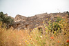 Derrière la flore... (La photo & moi....) Tags: pierres champdefleurs forteresse désertique couleur coquelicots champ ruine crête spinalonga