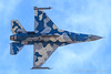 General Dynamics F-16C Fighting Falcon of the 64th Aggressor Squadron (64 AGRS) from Nellis AFB (Norman Graf) Tags: militaryexercise usaf lsv aircraft airplane generaldynamics 64agrs f16 870267 klsv f16c nellisafb redflag171 57atg 57thadversarytacticsgroup 64thaggressorsquadron fighter fightingfalcon jet plane unitedstatesairforce viper wa wa67 knifeedgeflight flight ordnance p5ctstcts analq188electronicattacktrainingpod electronicwarfare aircombatmaneuverinstrument aim9 missile aim9l aim