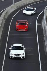 "Mercedes-Benz, C63 AMG ""Black Series"" / Ferrari F40 / Lamborghini Aventador SV, Hong Kong (Daryl Chapman Photography) Tags: ferrari f40 italian lamborghini aventador sv superveloce mercedes benz c63 amg blackseries hongkong china sar canon 1d mkiv 70200l car cars carspotting carphotography auto autos automobile automobiles"