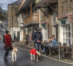 Visitors to Looe, Cornwall (Baz Richardson (trying to catch up again!)) Tags: cornwall eastlooe quayside streetscenes cafes looe