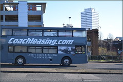 Poor result: Wasps lost to Saracens 15-38 at the Ricoh (paulburr73) Tags: coachleasing s623mkh 623 volvo olympian northerncounties palatinei eyms eastyorkshire 1998 2018 january wasps busshuttle coventry railwaystation rugbygame yn3yna4 ringroad westmidlands saracens eymotorservices