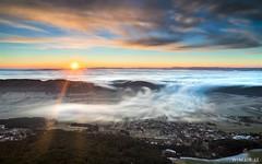 Flood (Wim Air) Tags: fog hohe wand lower austria wimairat sunrise