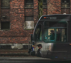 Bus and Street (Photo Alan) Tags: vancouver canada street streetphotography streetpeople bus outdoor chinatown