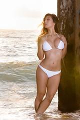 Kat (Marvin Chandra) Tags: katsweets sukiyuki bikini beach pier hawaii oahu honolulu ocean model portrait landscapeportrait