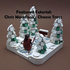 New Featured Tutorial! (soccersnyderi) Tags: lego moc walkthrough guide tutorial tree pine winter technique design snot cheese