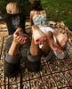 zoe1 (paulswentkowski1983) Tags: dirty feet soles filthy pitch black ebony female street city calloused barefoot barefeet