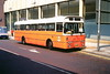 G M Buses 438 (LTE 489P) (SelmerOrSelnec) Tags: gmbuses leyland leopard plaxton lte489p manchester cannonstreet arndale lut lancashireunitedtransport bus scud