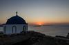 Sunrise in Astypalea (RomanK.) Tags: greece greek astypalea sun church ellada ellas