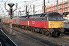"""47770 """"Reserved"""" and 47749 """"Atlantic College"""" at Doncaster (Railpics_online) Tags: atlanticcollege reserved 47770 doncaster 47749 serco res"""