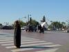 Lost in the jungle of the city (Shahrazad26) Tags: marrakech marokko morocco maroc zebra verkeer traffic man