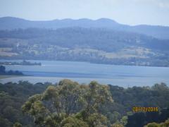 River Tamar and Tamar Island to left (d.kevan) Tags: tamarvalley rivers views rivertamar hills tasmania islets