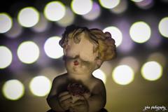 The Child of Light (shamahzoha) Tags: macro macromonday memberschoice bokeh closeup lights child statue tiny miniature beautiful vibrant distinct abstract 7dwf