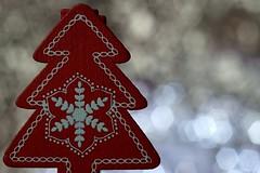Merry Christmas for my Flickr Friends :) (Lukkasia) Tags: macro macromondays hmm memberschoicebokeh christmas christmastree red dreamscancometrue 7dwf bokeh abigfave sundaylights wtc