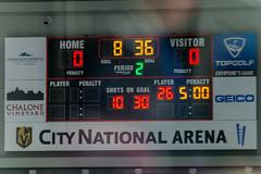 Scoreboard (mark6mauno) Tags: scoreboard canadianpremierjuniorhockeyleague canadian premier junior hockey league cpjhl westernstateshockeyleague western states wshl 201718 westernstatesshootout citynationalarena city national arena cna nikkor 300mmf28gvrii nikond4 nikon d4 ar3x2