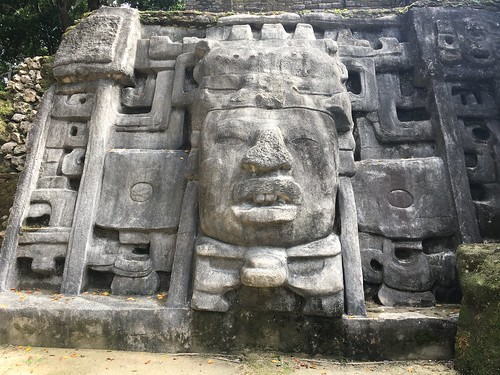 Carved Face on the King's Tomb