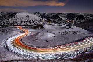 Long and winding road (not to mention slippy)