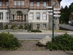 Schierke_e-m10_1019021778 (Torben*) Tags: olympusm17mmf18 olympusomdem10 rawtherapee harz schierke rathausschierke rathaus townhall fachwerk halftimber