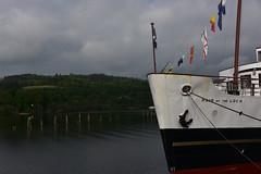 Maid of the Loch, Loch Lomond (schwerdf) Tags: balloch boats boatsdocked britishisles lochlomond maidoftheloch scotland
