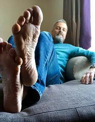Happy New 2018! (silvpix) Tags: guy man barefeet barefoot footsole feets feet