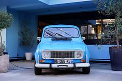 Renault 4, Harajuku (Eric Flexyourhead) Tags: harajuku 原宿 shibuya shibuyaku 渋谷区 tokyo 東京 japan 日本 city urban detail fragment car french renault r4 renault4 blue frenchblue sonyalphaa7 zeisssonnartfe55mmf18za zeiss 55mmf18