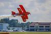 Low Pass Biplane (tclaud2002) Tags: biplane airplane aircraft stuntplane aviation smoke lowpass airshow stuartairshow stuart florida usa
