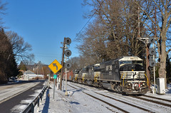 Route 7 Flyer (Arkangel Productions) Tags: norfolk southern ns dh southline 30t sd60i afton