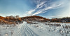 8R9A0626-28Ptzl1scTBbLGER (ultravivid imaging) Tags: ultravividimaging ultra vivid imaging ultravivid colorful canon canon5dm3 clouds winter scenic sunsetclouds lateafternoon evening sky snow landscape rural vista path pennsylvania pa panoramic painterly road farm fields