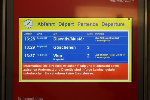 Andermatt - MGB canceled