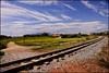 - VIA Y NUBES - (Tomas Mauri) Tags: viajar montserrat via nubes casa camino azul verde spain santpedor europa catalunya viaynubes viaandclouds