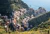 The village of Manarola in the Cinque Terre National Park - Liguria - Italy (PascalBo) Tags: nikon d500 europe italia italie italy liguria ligurie laspezia cinqueterre nationalpark parcnational manarola sea mer water outdoor outdoors pascalboegli