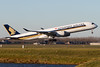 9V-SMK, Airbus A350-941, Singapore Airlines (freekblokzijl) Tags: 9vsmk airbusa350 a350941 singaporeairlines changi departure rotation takeoff amsterdamairport schiphol eham planespotting winterlight sunny winter luchthaven startbaan canon eos7d 70200l28isusm