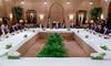 جلالة الملك عبدالله الثاني يلتقي رئيس مجلس النواب ورؤساء اللجان النيابية في قصر الحسينية (Royal Hashemite Court) Tags: جلالة الملك عبدالله الثاني مجلس النواب اللجان النيابية الأردن عمان jordan kingabdullahii kingabdullah house representatives committees amman