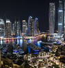 A Luxurious View (Hany Mahmoud) Tags: dubai marina dubaimarina luxury towers skyscrapper yacht urban night panorama skyline cityscape travel