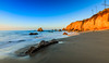 Cool Warm Sunrise (JohnLazo19) Tags: 1635mm beach canon5dmarkiv elmatador landscapes morning ocean rocks sunrise water waves