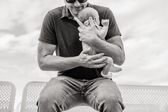 new father born (Keoni Cabral) Tags: baby child dad daddy father fathersday fatherhood hold holdbaby holdinfant infant newfather newborn papa parent sandiego california unitedstates us bw blackwhite blackandwhite monochrome desaturate parenting