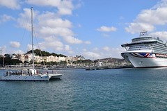 Cartagena (pablocabezos) Tags: pavelcab pablocabezos cabezos 2017 cartagena murcia españa spain puerto port crucero cruise barcos azura