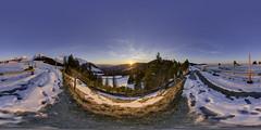 Sunset Gurnigel Winter (Bugtris) Tags: gurnigel 815f4l landschaft fisheye hdrdri canon 5dmkiii gantrisch 360gradpano