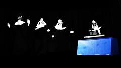 sister act blue (t.horak) Tags: nuns black blue white uniform musicians singers theatre sister act musical actors performance