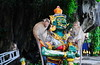 ,, Monkeys ,, (Jon in Thailand) Tags: monkeys monkey primate primates ape apes jungle deepjungle nikon nikkor d300 175528 red orange green yellow blue monkeyeyes monkeytails ladder statue goldenbells pointeyheades cave monkeyexpressions oddphoto wildlife wildlifephotography junglewildlife corporateladder