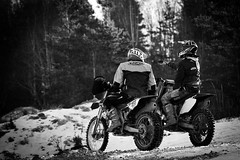 1I4A5803 (joakimandersson5) Tags: mx enduro enduromx winter snow frost uringe cross motocross dirtbike sweden